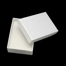 škatla iz kartona 90x65x28 mm, bela, 1 kos