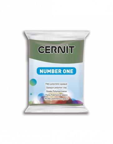 """CERNIT NUMBER ONE, modelirna masa, """"Olive"""" b. (645), 56 g"""
