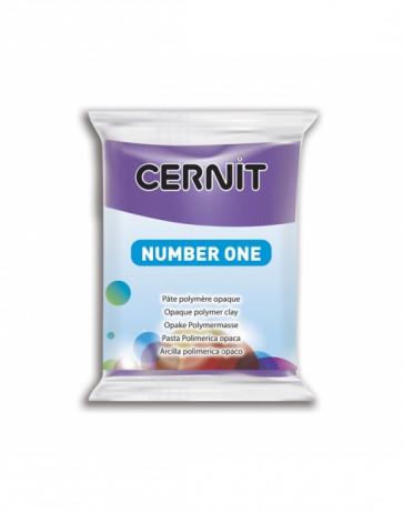"""CERNIT NUMBER ONE, modelirna masa, """"Violet"""" b. (900), 56 g"""