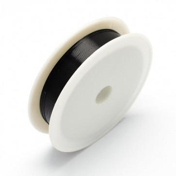 barvna žica za oblikovanje, črna, 0,30 mm, dolžina: 21 m