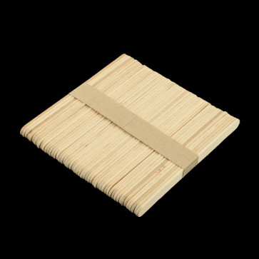 lesene sladoledne palčke 110x10x2 mm, naravne, 50 kos