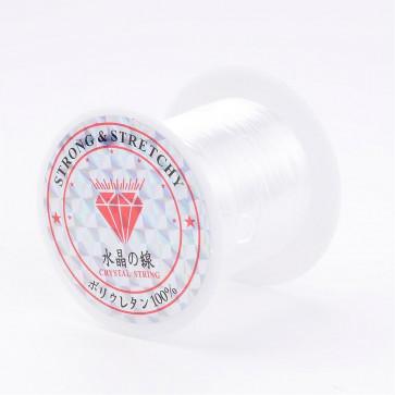 elastična vrvica, 0.8 mm, bela, dolžina: 10 m