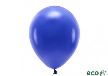EKO balon, pastel, mornarsko modra b., 26 cm, 1 kos
