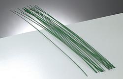 žica za oblikovanje - za oblikovanje rož, 0,8 mm, zelena b., dolžina: 28 cm, 1 kos