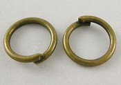 zaključni obroček 5 mm, antik, 50 gr