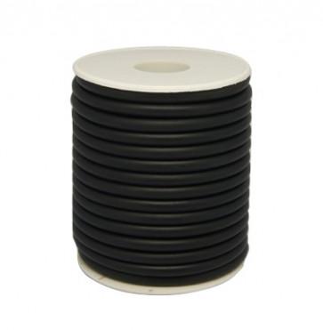 kavčuk osnova (gumi), debelina: 5 mm, črne b., brez  luknje, 1 m
