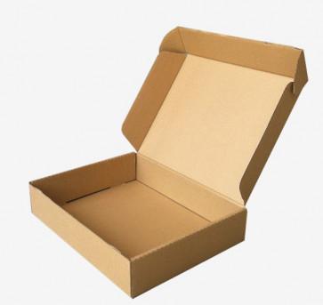 zložljiva škatla iz kartona 27.7x23x5.2 cm, rjava, 1 kos