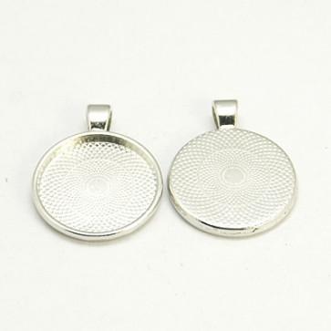 osnova za obesek - medaljon 36x28x3mm, barva starega srebra, velikost kapljice: 25 mm, 1 kos