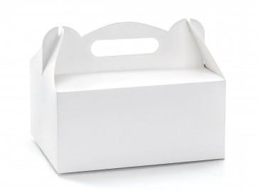 škatla za pecivo, bela, 19x14x9 cm, 1 kos