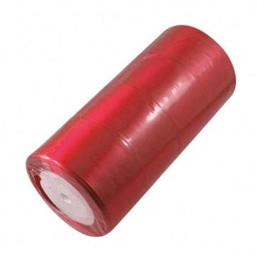 satenast trak sv. rdeč, širina: 50 mm, dolžina: 22 m