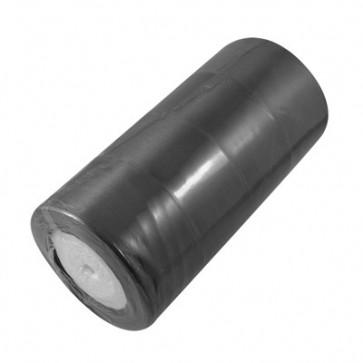 satenast trak črn, širina: 37 mm, dolžina: 22 m