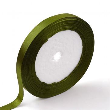 satenast trak olivne barve, širina: 50 mm, dolžina: 22 m