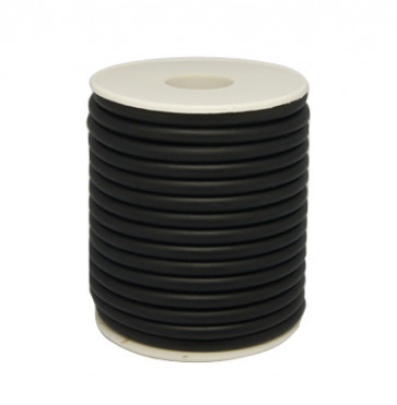 kavčuk osnova (gumi), debelina: 4 mm, črne b., velikost luknje: 1,5 mm, 1 m