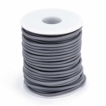 kavčuk osnova (gumi), debelina: 3 mm, sive b., velikost luknje: 1,5 mm, 1 m