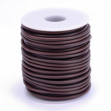 kavčuk osnova (gumi), debelina: 3 mm, rjave b., velikost luknje: 1,5 mm, 1 m