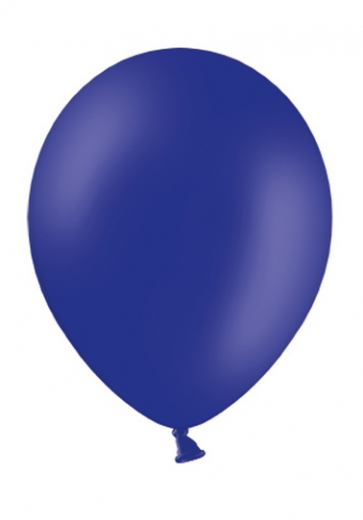 balon, kraljevsko modra, pastel, 30 cm, 1 kos