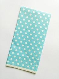 papirnate serviete 33x33 cm, 3-slojne, modre, 1 kos