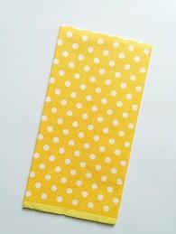 papirnate serviete 33x33 cm, 3-slojne, oranžne, 1 kos
