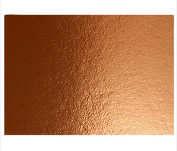 metalna folija - papir 280 g, 210x297 mm (A4), bakrene b., 1 kos
