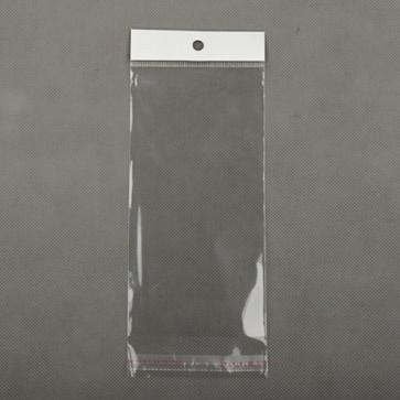 vrečka iz celofana 7x15 cm, prozorna, 10 kos