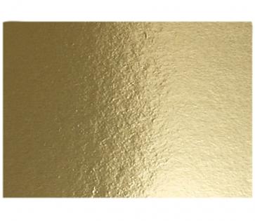 metalna folija - papir 280 g, 210x297 mm (A4), zlate b., 1 kos