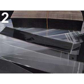 kartonček za zapestnico 4x22 cm, črne b., 1 kos