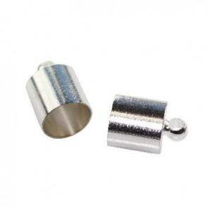 kovinski zakjuček 8,5 mm, srebrne barve, 1 kos