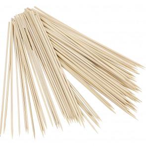 lesene palčke, 25 cm, debelina: 3 mm, 10 kosov
