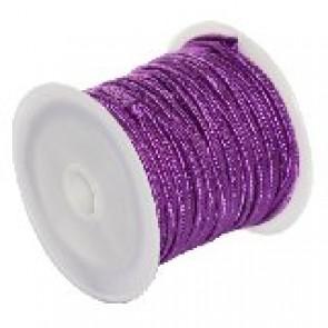 soutache vrvica 2,5 mm, barva: cyclamen, 4 m