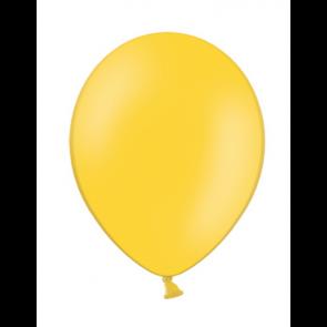 balon, rumena b.,  pastel, 30 cm, 1 kos
