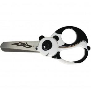 Fiskars otroške škarje 13 cm, panda, za levičarje in desničarje, 1 kos