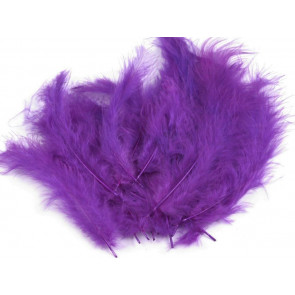 perje 10-17 cm, temno vijola, 1 kos