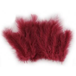 perje 9-18 cm, barva roza-vijolična, 1 kos
