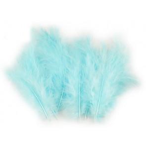 perje 9-18 cm, barva modro nebo, 1 kos