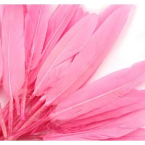 perje 9 - 14 cm, sv. roza, 1 kos