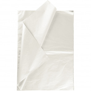 "svilen papir (Tissue Paper) 17 g, 50x70 cm, ""Mother-of-pearl"" b., 1 kos"