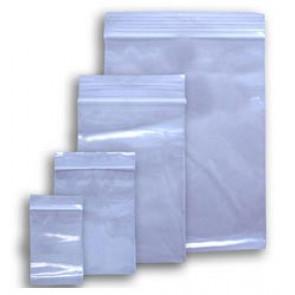 plastične vrečke z zadrgo 80 x 120 mm, prozorne, 50 kos