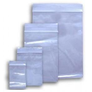 plastične vrečke z zadrgo 60 x 80 mm, prozorne, 50 kos