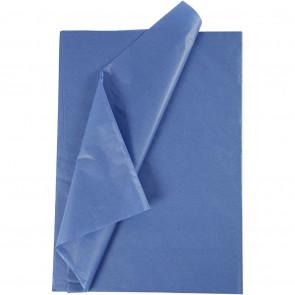 svilen papir (Tissue Paper) 14 g, 50x70 cm, Blue, 1 kos
