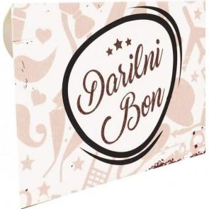"""kuverta za darilne bone """"Bež - dodatki"""", 22x15.5 cm, 1 kos"""