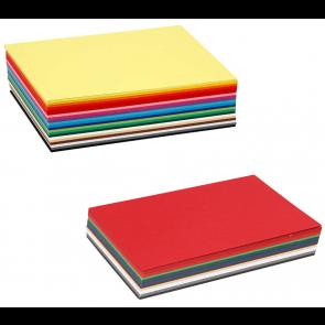 barvni papir 180 g, 148x210 mm (A5), mix, 1 kos