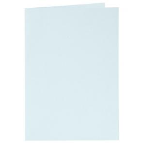 osnova za vabila, 10,5x15 cm, 210 g,  pastelno modra b., 1 kos