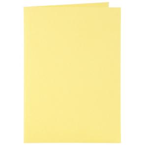 osnova za vabila, 10,5x15 cm, 210 g,  pastelno rumena b., 1 kos