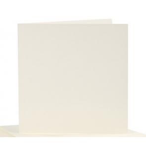"""osnova za vabila, 15x15 cm, 220 g, """"off white"""" umazano bele b., 1 kos"""