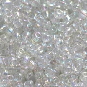 steklene perle 2 mm, prozorne, prosojne, 20 gr
