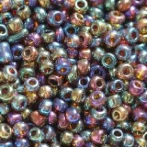 steklene perle 2 mm, vijola - mix, 20 gr
