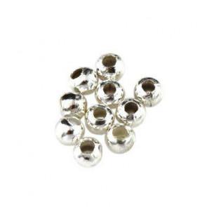 kovinske perle 6 mm, srebrne barve, 500 kos
