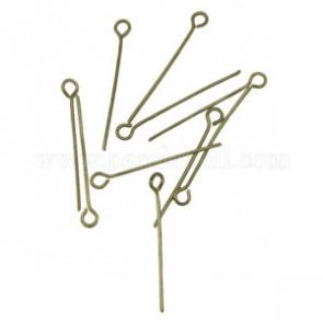 igle za perle 1.6cm~5 cm, antik b., 50 gr