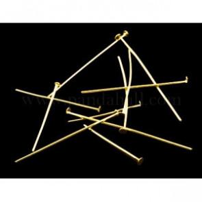 igle za perle 1.6 cm~5 cm, zlate b., 50 gr