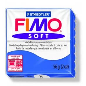 FIMO SOFT modelirna masa, blesteče modra b. (33), 56 g